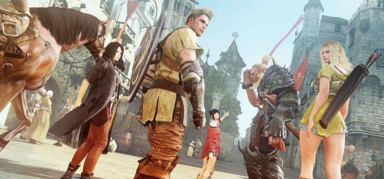 Предлагаем поиграть в новою MMO RPG «Black Desert» вместе с нами (STRANNIK & HemulGM)